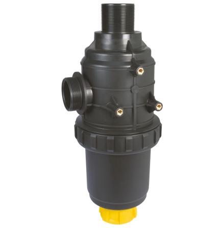 Sugfilter serie 317 med ventil