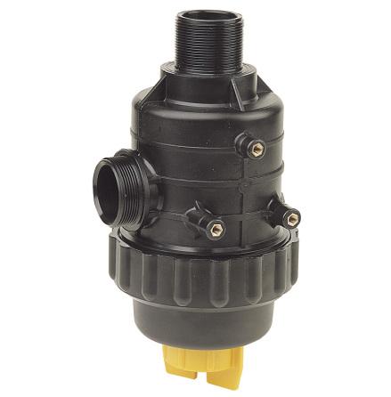 Sugfilter serie 316 med ventil